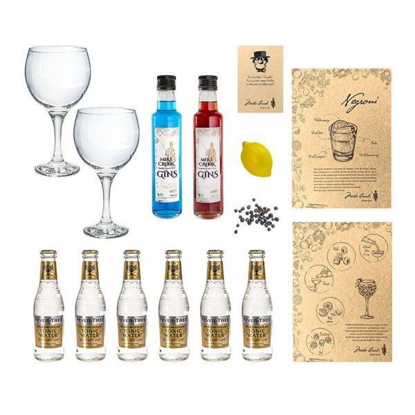 "El Pack de gin tonics ""Ritual"" con dos botellas de ginebra"