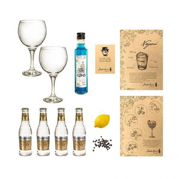 """Pack de gin tonics """"Ritual"""" con una botella de ginebra"""