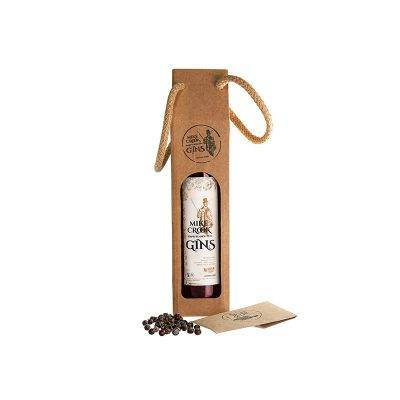 """El pack de gin infusionado """"Único"""" con embalaje de regalo y bayas de enebro"""